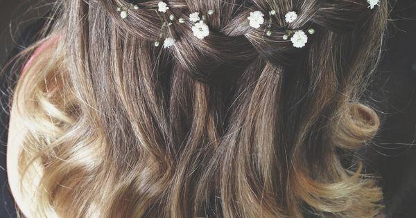 Tranças | Рубашки и футболки | Pinterest | Wedding, Flower and Girls