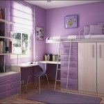 Breathtaking Interior Decoration Ideas Girls Bedroom Comely Light Purple Girl Bedroom Decoration With Light Purple Bedroom Wall Paint Including Purple Wood Girl Bunk Bed And Light Purple Curtain In Girl Room Amaz