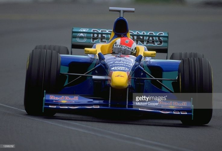 Johnny Herbert of Great Britain driving his Sauber-Petronas during the Australian Grand Prix at Albert Park in Melbourne, Australia. \ Mandatory Credit: Mike Cooper /Allsport