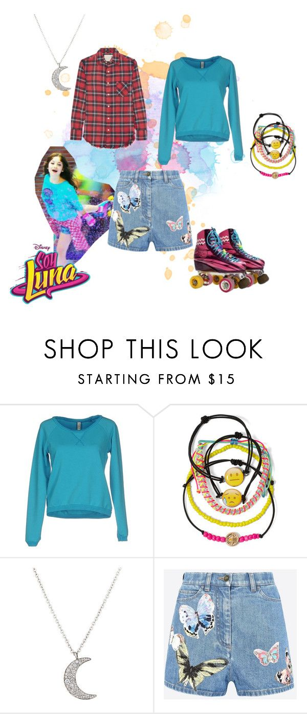 """soy luna"" by maria-look on Polyvore featuring MET, Carole, Finn, Valentino and R13"