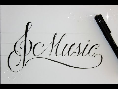 Custom in writing music