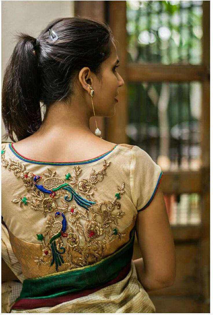 MoiFash | Maggamworks | Blouse designs, Bridal blouse ...