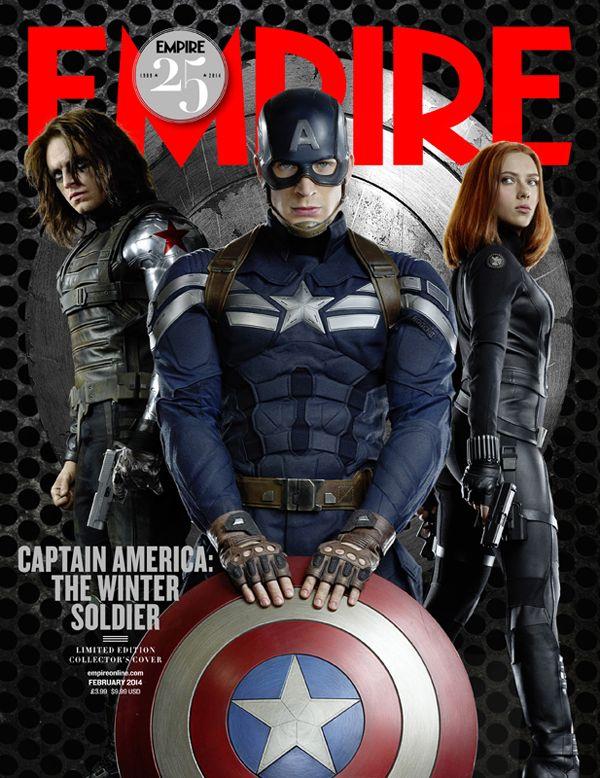 Capitão América 2: O Soldado Invernal – Capas de Revista e Imagens Inéditas