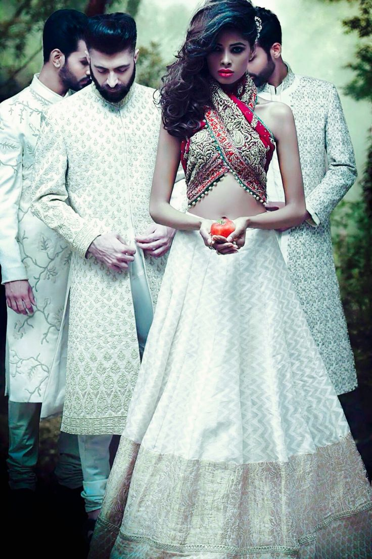 37 best white Indian wedding images on Pinterest | Indian clothes ...