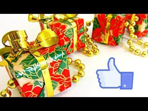 Guirnalda de regalos. Garland gifts - YouTube
