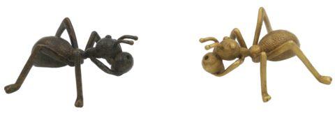 Ce porte encens chinois en forme de fourmi est issue de l'artisanat chinois, et est...
