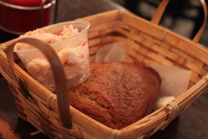 Banana bread & strawberry butter - Lansky's Deli   Treats   Pinterest...