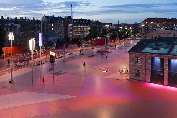 Superkilen, el #parque más surreal de Europa | #arquitectura #Copenhague