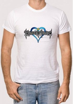 Camiseta Logo Kingdom Heart