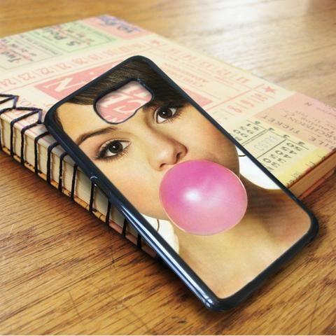 Selena Gomez Bibble Gum Singer Idol Samsung Galaxy S7 Edge Case