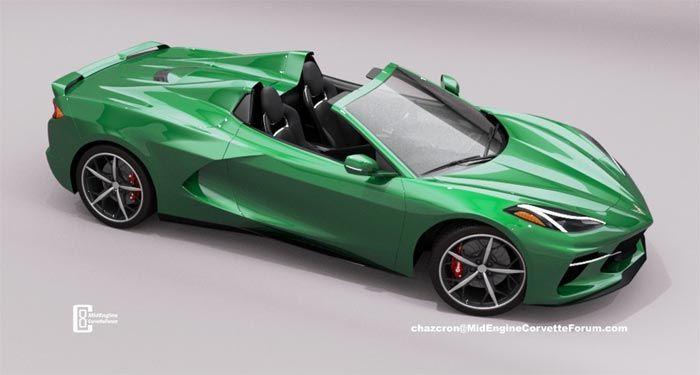 Video Chazcron Raises The Roof On The C8 Corvette Hard Top Convertible