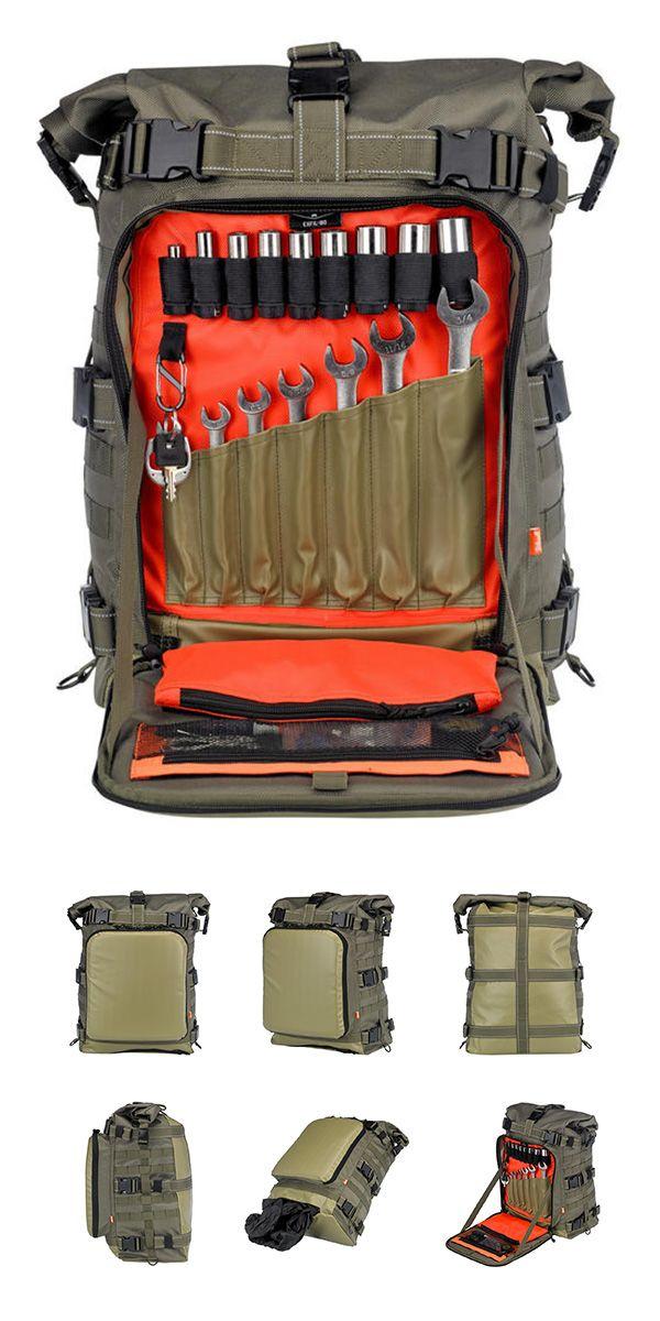 Biltwell Inc OD Green EXFIL-80 Bag BE-XLG-80-CG