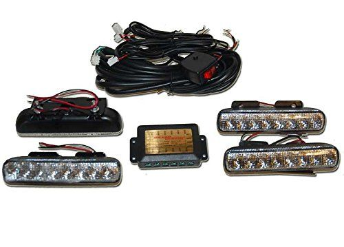 8 LED Dual Glow Strobe Lights Green Strobes for Cars, Trucks, Atv's Boats and More. For product info go to:  https://www.caraccessoriesonlinemarket.com/8-led-dual-glow-strobe-lights-green-strobes-for-cars-trucks-atvs-boats-and-more/