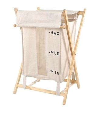 54% OFF Nameek's Bubo Laundry Basket, Beige