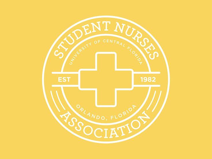 Student Nurses Association Logo