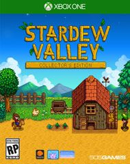 You've inherited your grandfather's old farm plot in Stardew Valley. Armed with hand-me-down tools and a few coins, you set out to begin your new life. Can you learn to live off the land and turn these overgrown fields into a thriving home? It won't be easy. Ever since Joja Corporation came to town, the old ways of life have all but disappeared. The community center, once the town's most vibrant hub of activity, now lies in shambles. But the valley seems full of opportunity. W...
