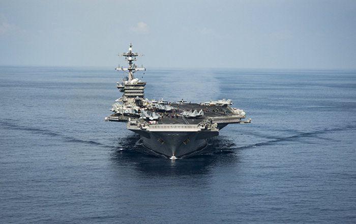 Sputnik Türkiye ///  ABD'nin uçak gemisi Kuzey Kore açıklarına haftaya ulaşacak
