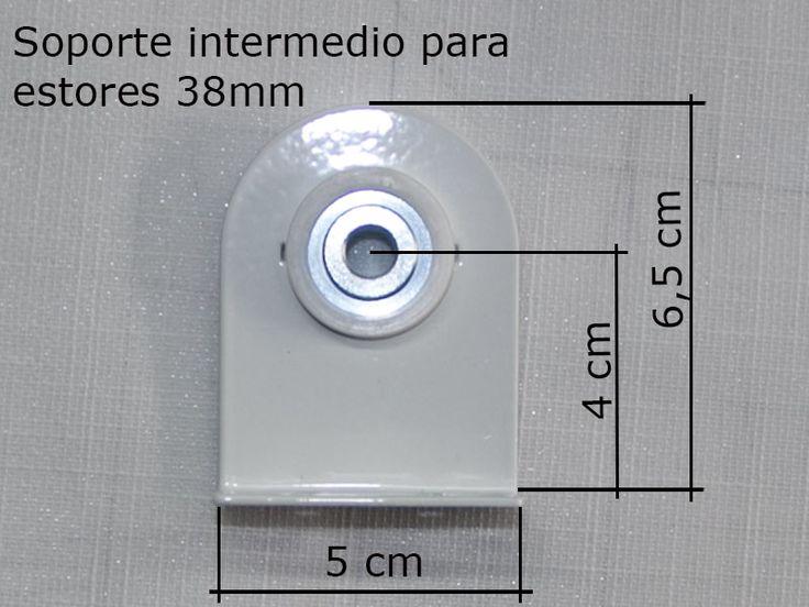 126 best images about enrollables roller blinds on pinterest - Soporte para estores ...