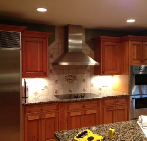 Pine Wood Kitchen Cabinets: Craft-Maid #farmhouse-style #kitchen Solid Wood Cabinets