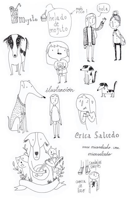 www.ericasalcedo.com    Erica Salcedo Illustration
