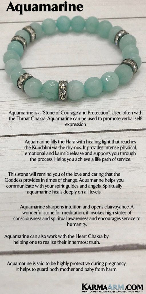 Reiki Healing | Mens & Womens Jewelry | Yoga Bracelets | #Aquamarine shields the #aura and aligns the chakras. #zen #reiki #Bracelets #BEADED #Gemstone #Mens #GiftsForHim #Lucky #womens #Jewelry #gifts #Chakra #Kundalini #Law #Attraction #LOA #Love #Mantra #Mala #wisdom #CrystalEnergy #Spiritual #Gifts #Blog #Mommy #Meditation #prayer #mindfulness #Healing #friendship #Stacks #Charm #Lucky #Karma #Mothers #day #Necklaces #Tony #Robbins #Eckhart #Tolle