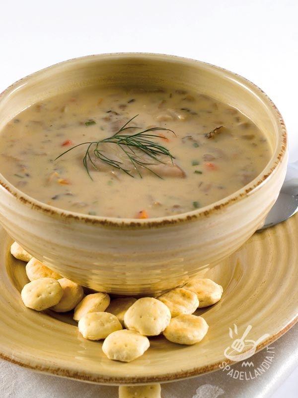 Vellutata di cannellini e funghi porcini - Primi / Zuppe e minestroni