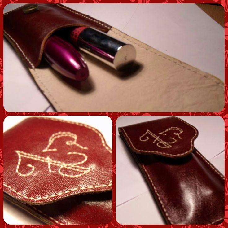 bőr tok Leather case 15 USA
