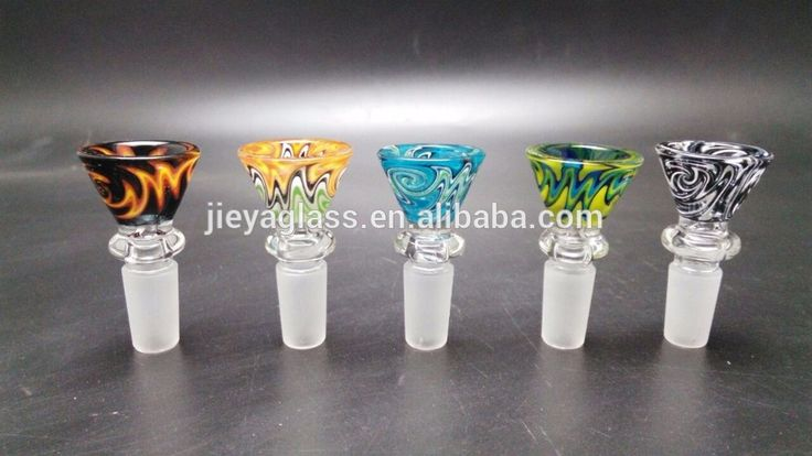Glass Bowl for Glass water pipes colorful smoking pipes