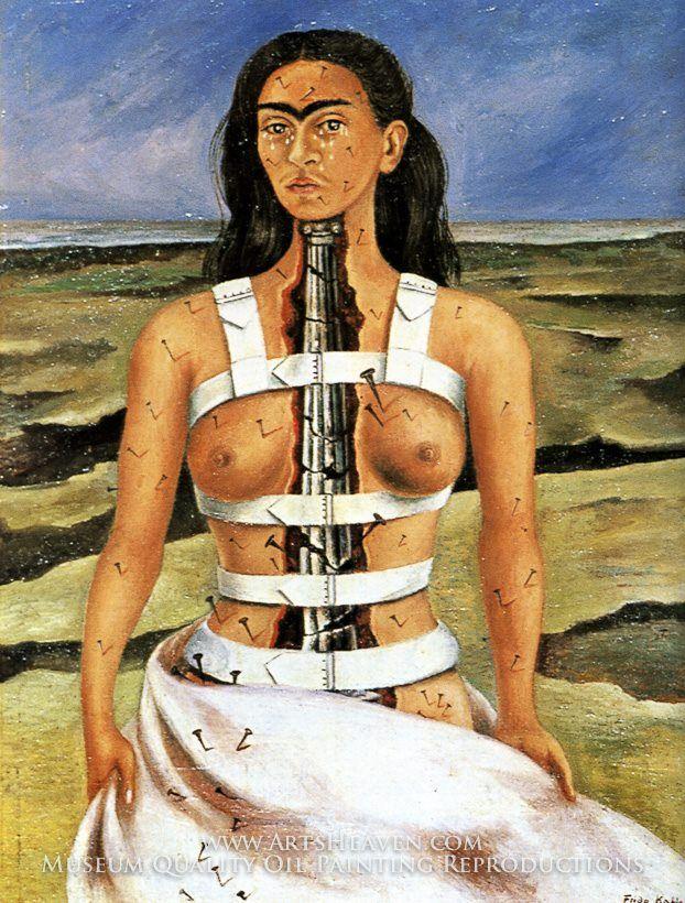 """The Broken Column"", 1944  Frida Kahlo"