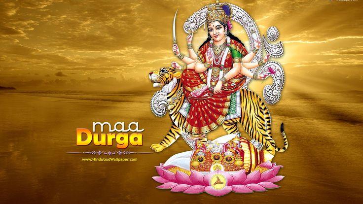 Religion, Maa Durga Ji, Hindu God, Maa Durga, God Maa Durga Ji