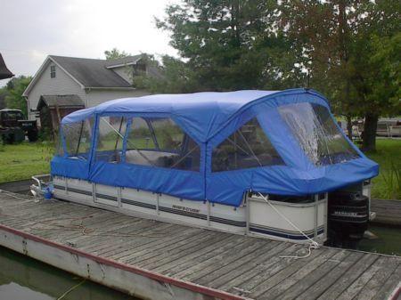 pontoon boat enclosures | Pontoon Boat Enclosures | enclosure024 | Lakeside Canvas