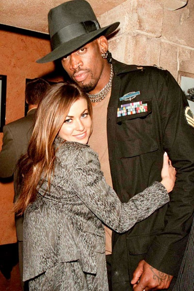 Their marriage surpassed the 72 day-mark, but Dennis Rodman and Carmen Electra called it quits after only a year of marriage.