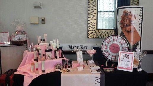 Mary Kay Vendor Table