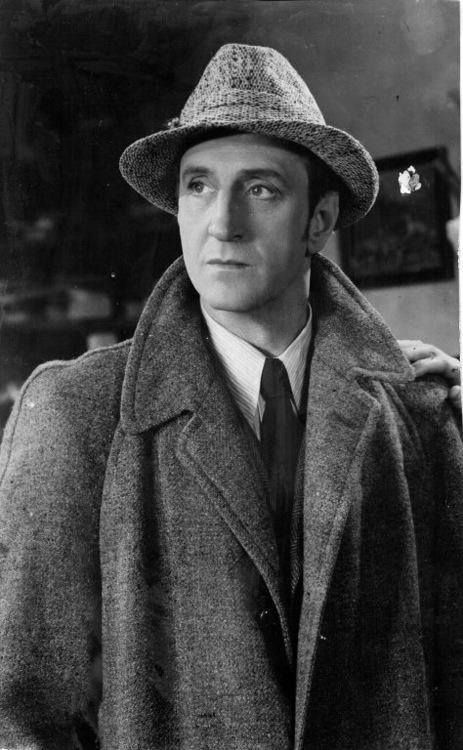 Basil Rathbone…as Sherlock Holmes. I love Basil Rathbone as Sherlock!