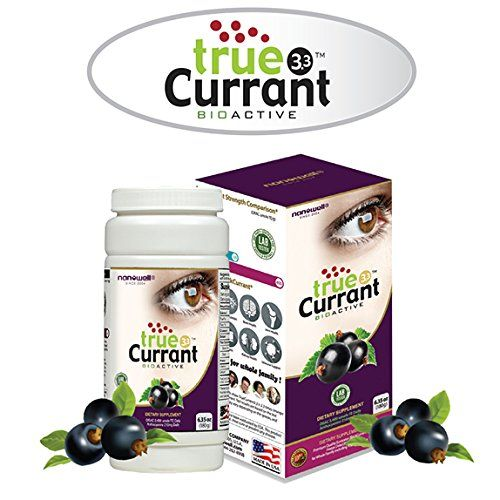 Nanowell® true Currant 3.3 180g | Premium Quality European Blackcurrant Frozen Dried Powder | ORAC 2,400 umole TE, Anthocyanins 210mg from daily dose of trueCurrant 3.3 * Learn more by visiting the image link.