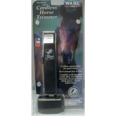 Intrepid International - TRIMMER HORSE BATTERY OPERATED by Intrepid International. $21.82. Great for beards too!. Includes stand, long and shortcut attachments,. batteries, cleaning brush, oil and blade guard. TRIMMER HORSE BATTERY OPERATED. Save 17%!