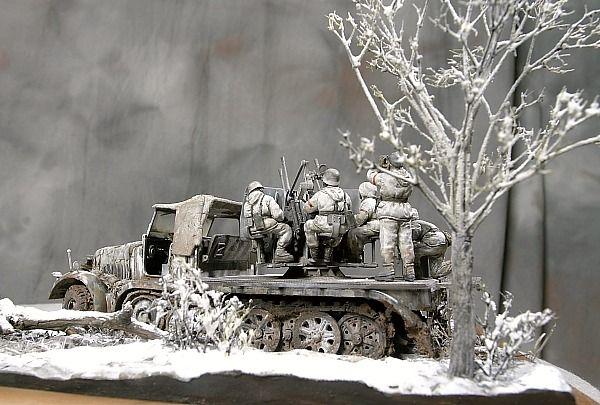 plastic models   8-Ton Sd.Kfz.7, Tamiya 1:35 by ewpiga
