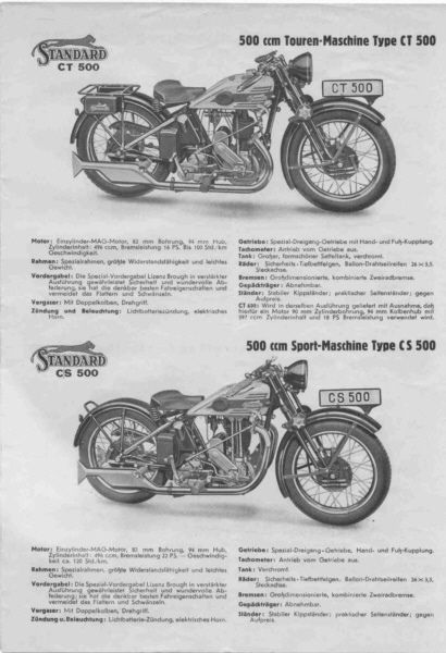 1932 Standard Modelle 32