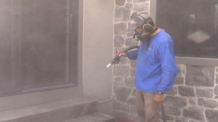 Sandblasing Stamped Concrete Sealer