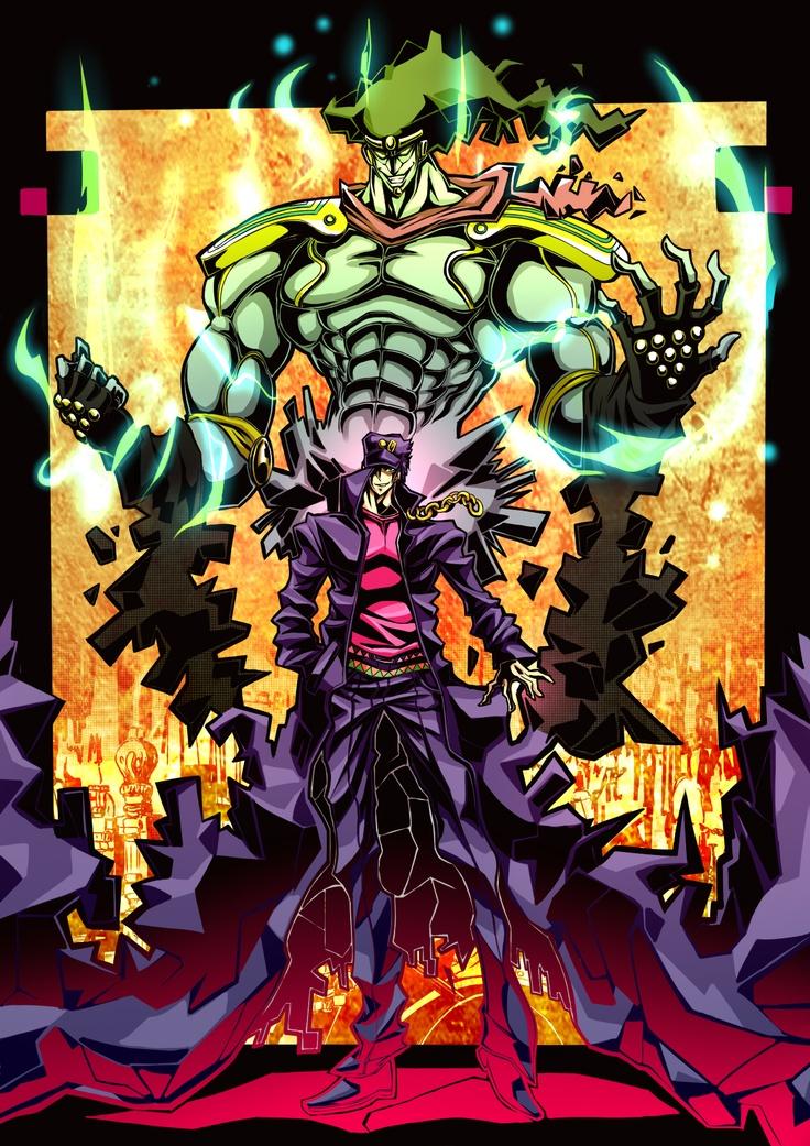 Jotaro & Star Platinum from JoJo's Bizarre Adventure