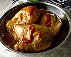 Poulet aux poivrons - Une recette CuisineAZ