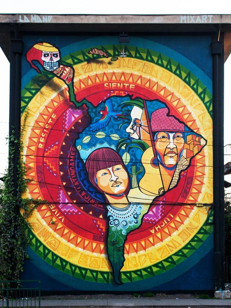latinoamerica mural - Buscar con Google
