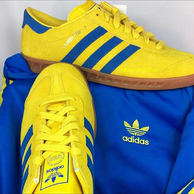 Pure adiporn and one of the best combos ever - Hamburgs in Stockholm  colourway and adidas