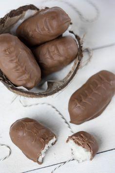 Homemade bounty #chocolates #sweet #yummy #delicious #food #chocolaterecipes #choco