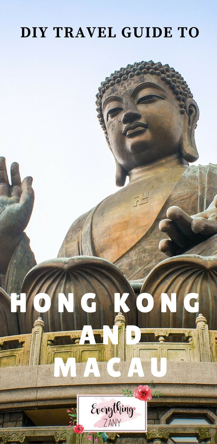 #hongkong #macau #travel |DIY Travel Itinerary to Hong Kong and Macau (SAR, China) | Hong Kong and Macau are one of the most visited destinations in Southeast Asia. Hong Kong and Macau is known for its bustling streets and vibrant lights. Hong Kong and Macau both have a colourful colonial history.