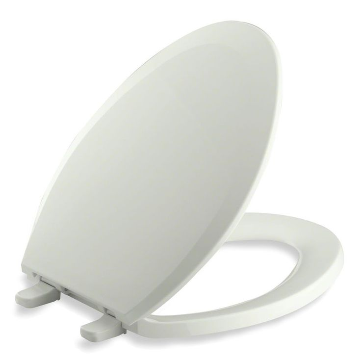 Kohler K-4652 Lustra Q2 Elongated Closed-Front Toilet Seat with Quick-Release an