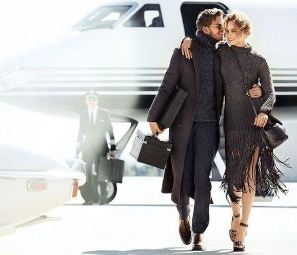 Сладкая жизнь: Кармен Педару в рекламной кампании Michael Kors осень-зима 2014/2015