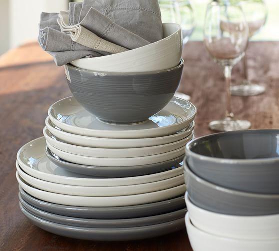 Joshua Dinnerware - Ivory, Bowl Set of 4