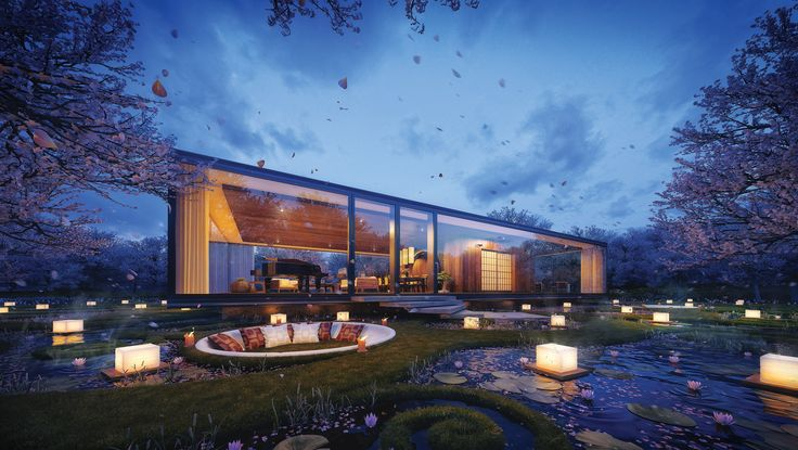 Exterior Render By Mer Ces Arch Design 3d Visualizations Max Vray Amazing Renders
