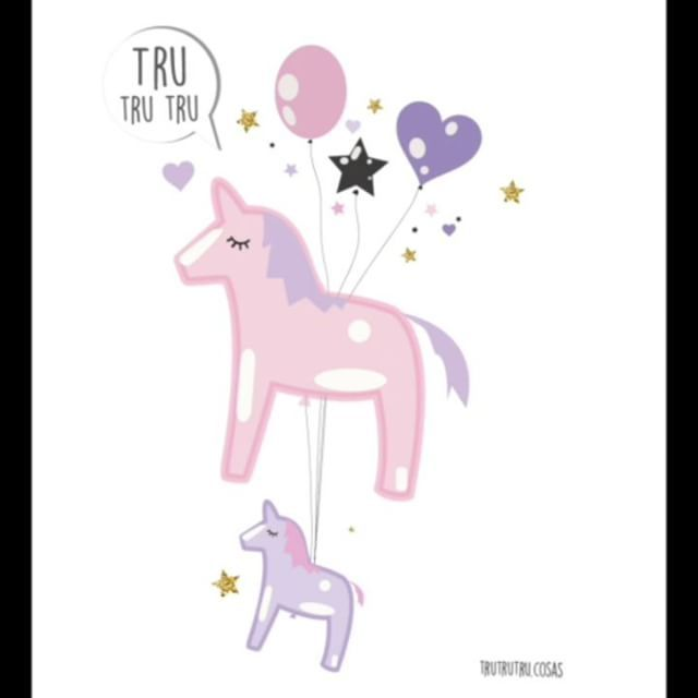 Feliz día 🦄🦄❤️  #mothersday #unicornmom   #ilovemom  #love #unicorn  #magic #trutrutru  #card